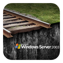 windows server 2003 end of support